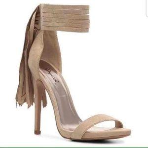 New Qupid Fringed Heels Sandals